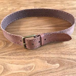 Vintage Embellished leather belt